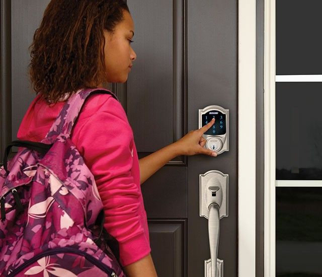 Schlage Connect Touch Screen Deadbolt