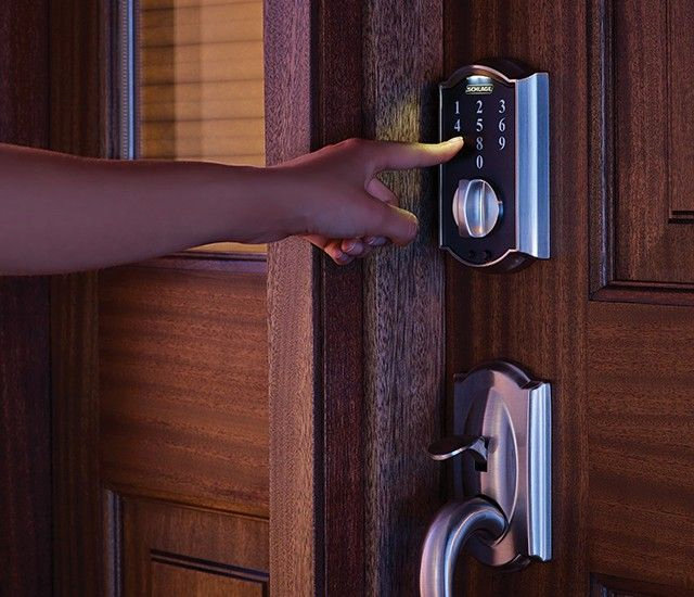 Schlage Touch Keyless Touchscreen Deadbolt