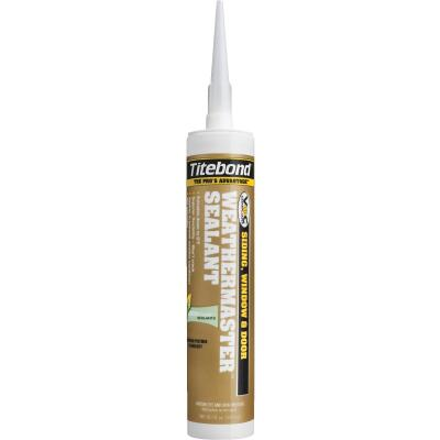 Titebond WeatherMaster 10.1 Oz. Polymer Sealant, 44601 Clay